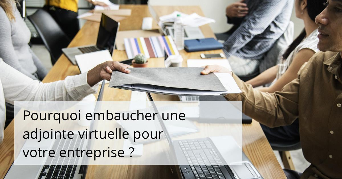 Pourquoi embaucher une assistante virtuelle pour votre entreprise ?